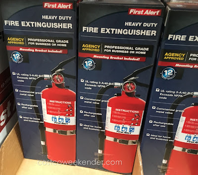 First Alert Heavy Duty Fire Extinguisher FE3A40GRC - Because you never know when you're going to need one