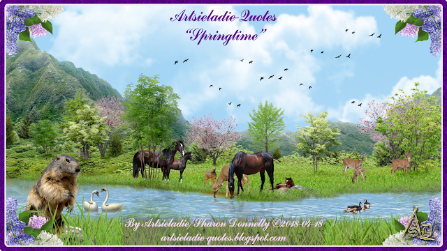 Springtime On Quotes by Artsieladie