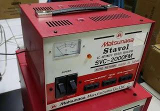 Darmatek jual Matsunaga Stavol SVC-2000FM Stabilizer 2000VA