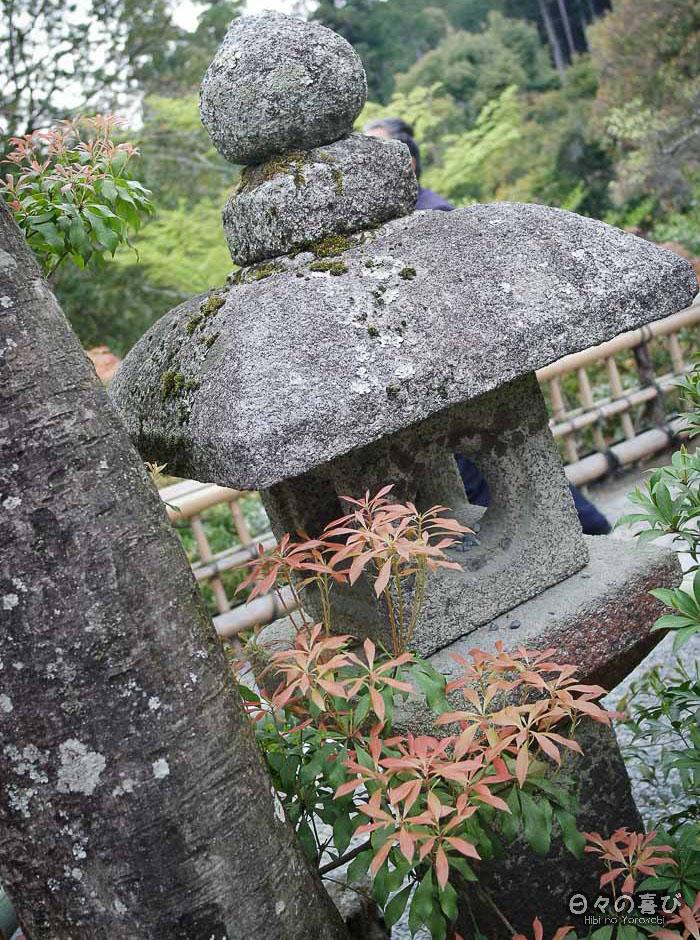 lanterne de pierre, Kinkaku-ji, Kyoto