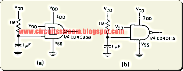 Simple Power On Reset Circuit Diagram