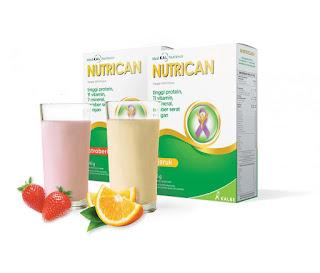Nutrican, susu nutrisi khusus pasien kanker.