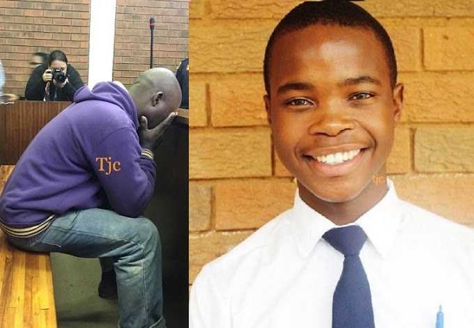 Father weeps as he's charged to court for mistakenly shooting his son dead (Photos/Video)