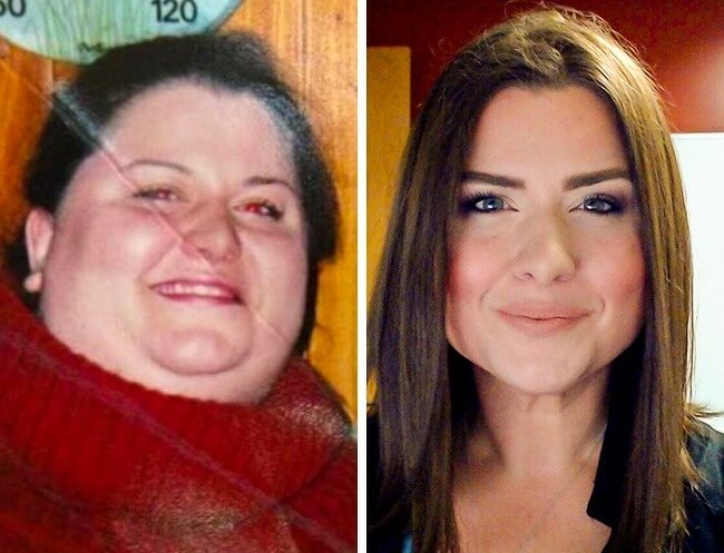 21 Before And After Photos Of People Who Managed To Lose Weight and Begin A Brand New Life - She is the absolute winner of our list she lost 220lb in just two years!