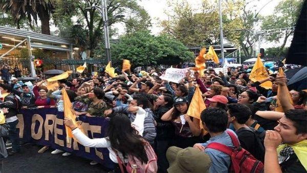 Estudiantes de México piden seguridad en las universidades