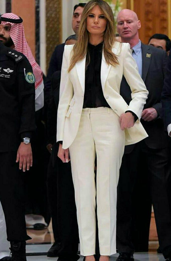 O estilo de Melania Trump – uma mulher poderosa