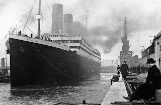 Titanic's maiden and last voyage