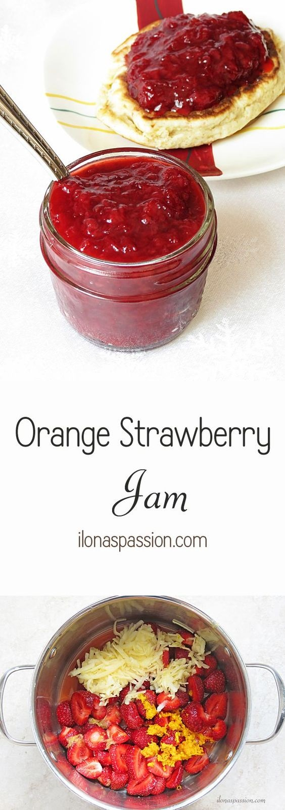 Orange Strawberry Jam