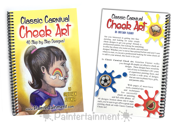 paintertainment now shipping classic carnival cheek art book