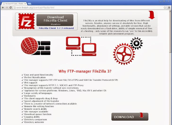 Warning: Malicious version of FTP Software FileZilla stealing users' Credentials