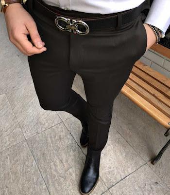 İtalyan kesim slim fit pantolonlar