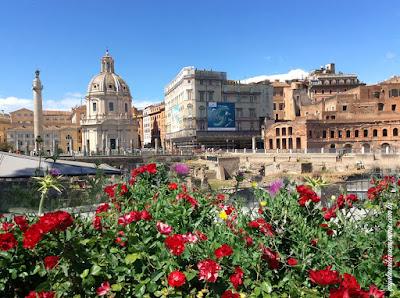 Fórum de Trajano na Primavera