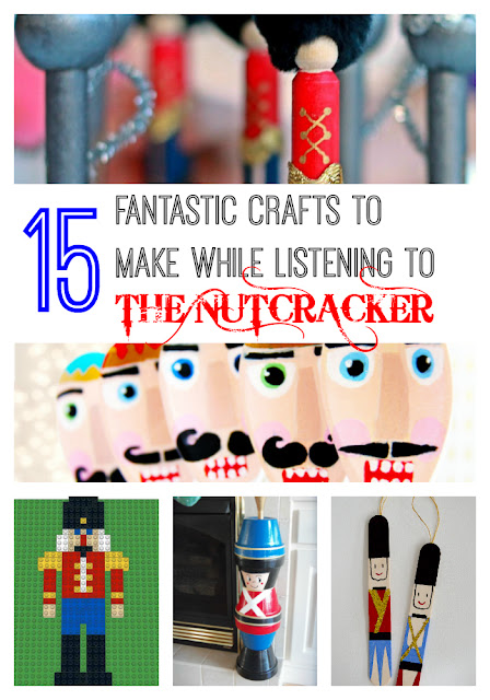 15 Crafts inspired by the Nutcracker Ballet