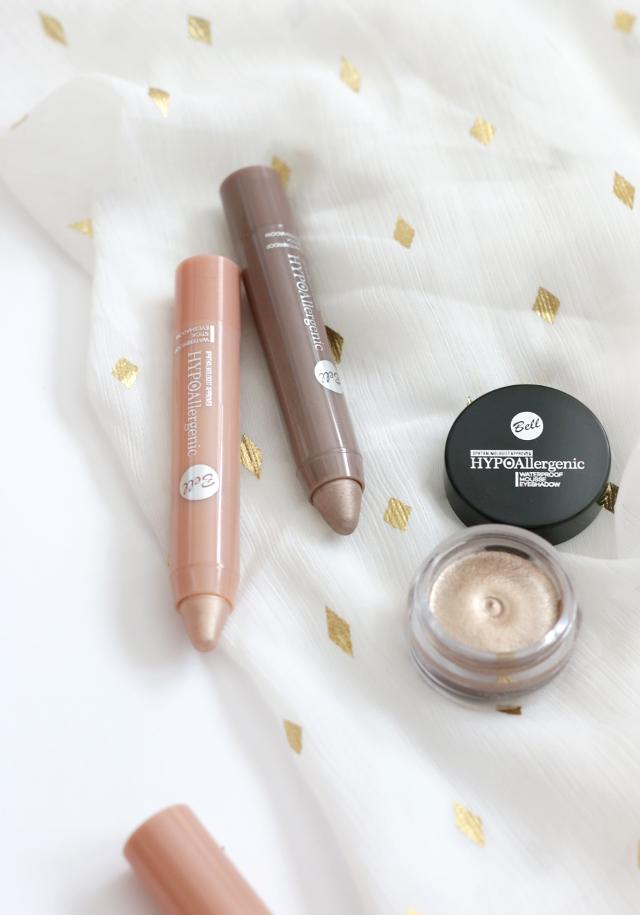 Bell Hypoallergenic Nude Eyeshadow - Paletka