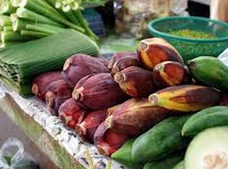 manfaat bunga pisang, bunga pisang untuk kesehatan, pemanfaatan bunga pisang, bunga pisang