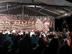 Ribuan Warga Sinau Bareng Cak Nun di Desa Wisata Banjarejo Grobogan