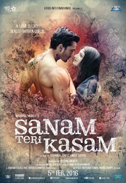 Poster Of Sanam Teri Kasam 2016 720p Hindi DVDRip Full Movie Download