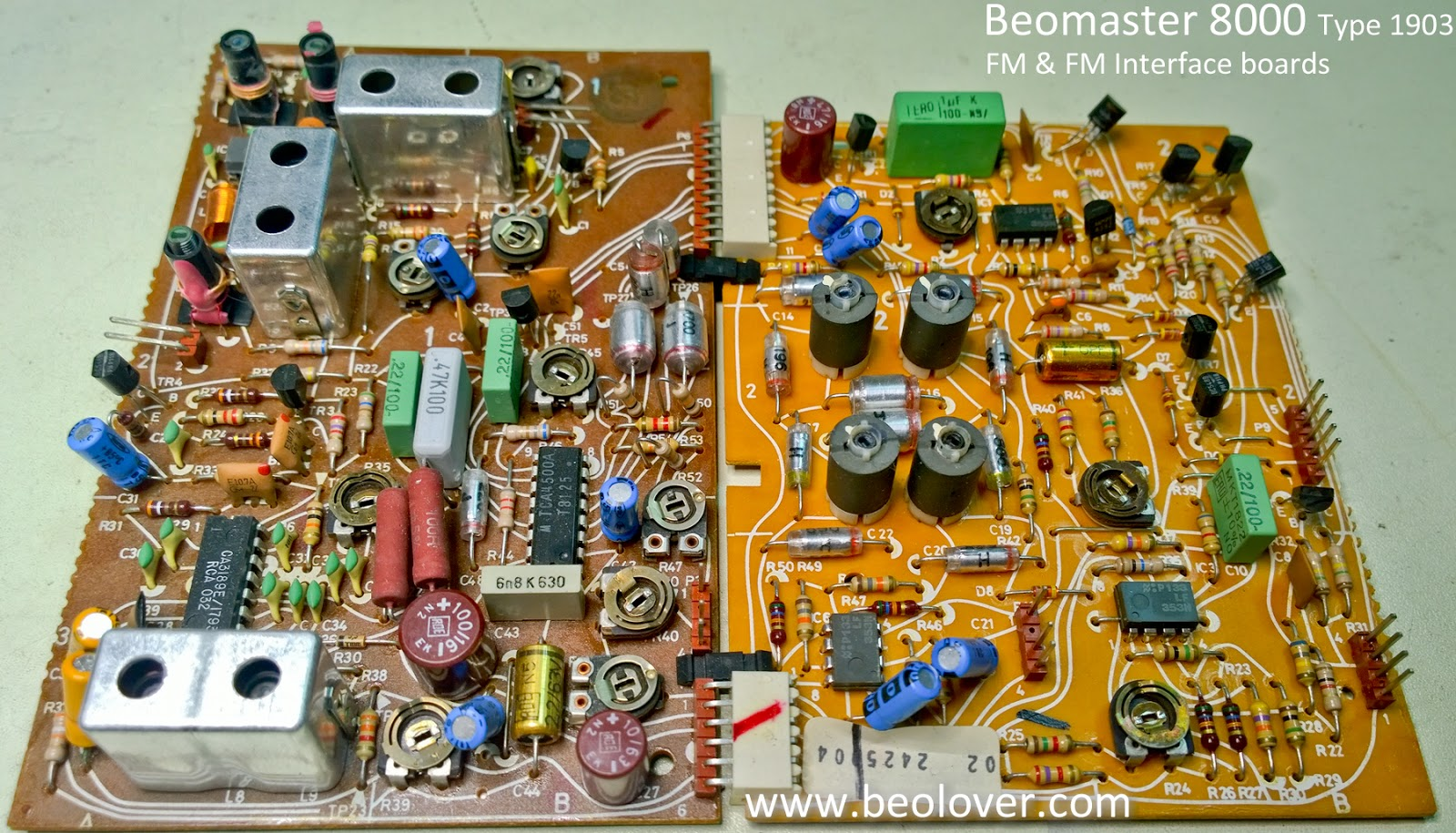 Beolover Beomaster 8000 Continuing The Board Recap Fm Circuit Here Are After Pictures
