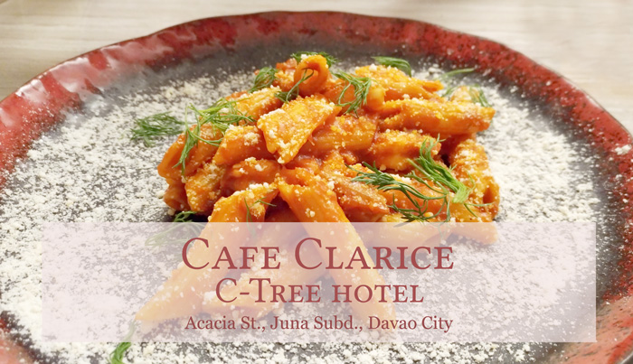 Cafe Clarice, a charming cafe at C-Tree Hotel