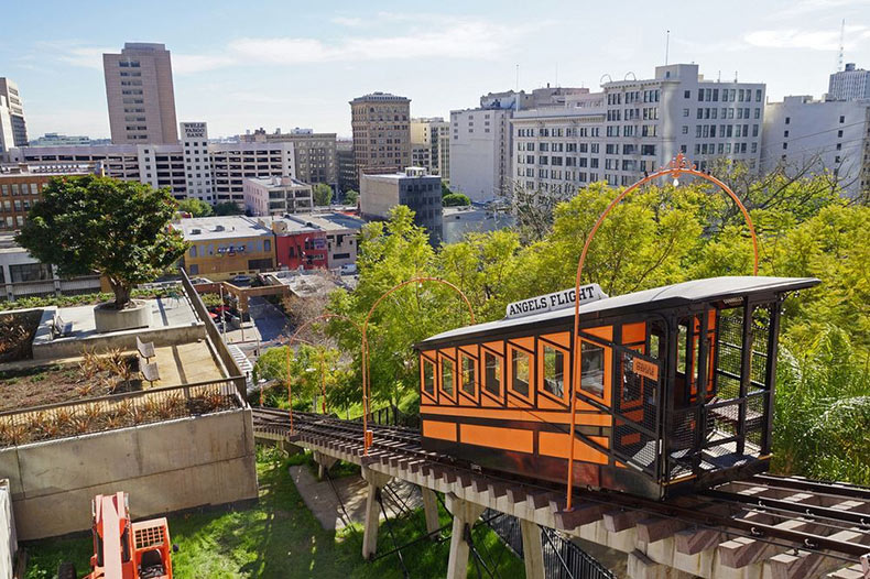 El elevador Angels Flight | Estados Unidos