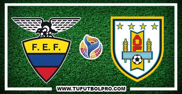 Ver Ecuador vs Uruguay EN VIVO Por Internet Hoy 11 de Febrero 2017