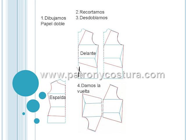 www.patronycostura.com/diy blusa cruzada delante.Tema 168,html