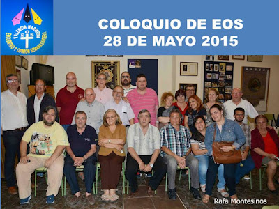 COLOQUIO 28 MAYO 2015 EN NUESTRO PADRE JESÚS NAZARENO