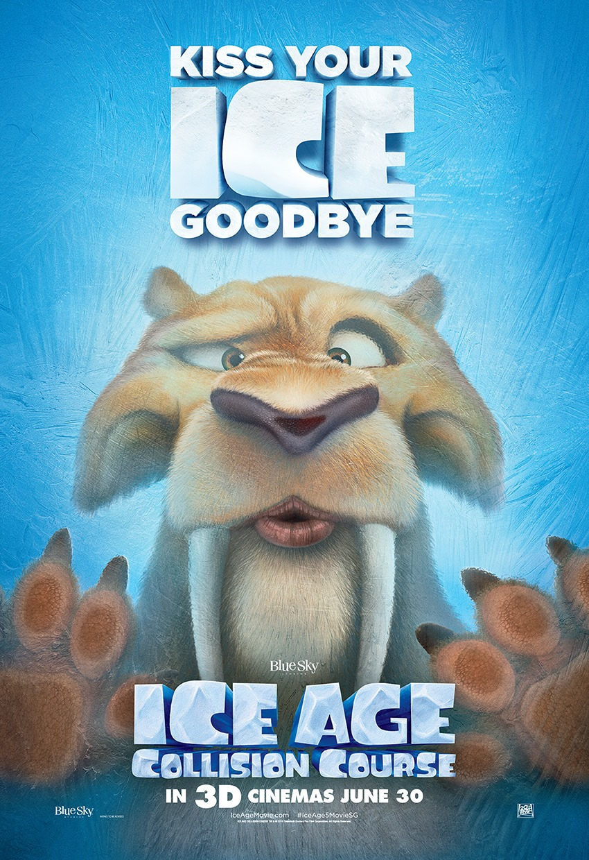 New Trailers and Posters for ICE AGE: COLLISION COURSE ...
