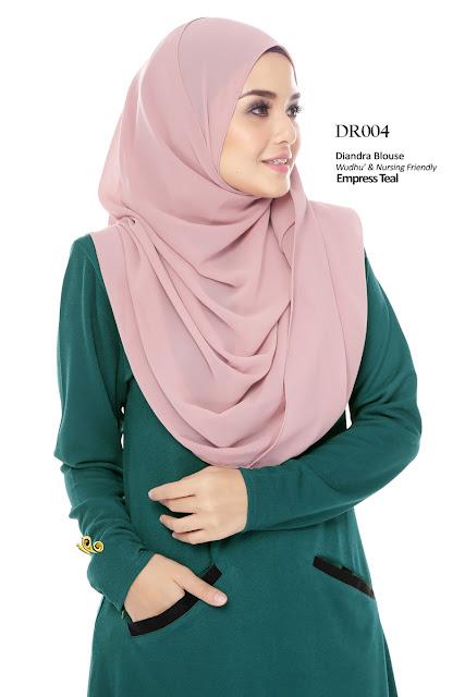 blouse diandra baju anggun