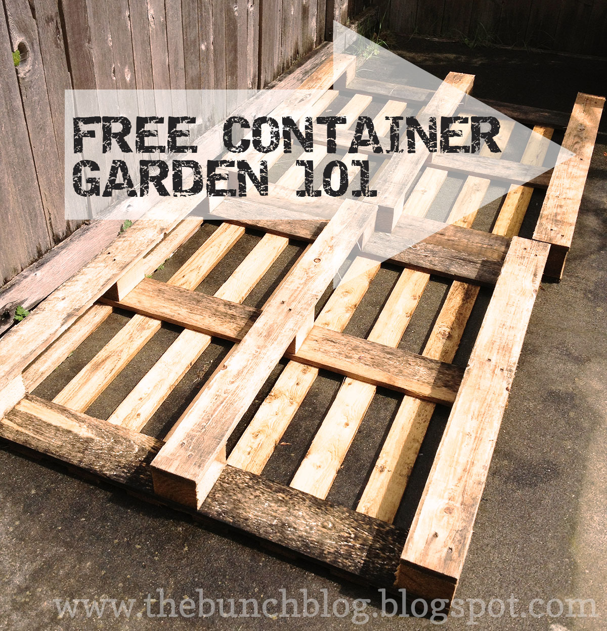 The Bunch Handcrafted Stylishly Diy Pallet Veggie Garden