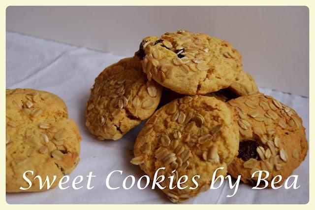 Cookies de calabaza con arándanos y avena  (apto para diabéticos)