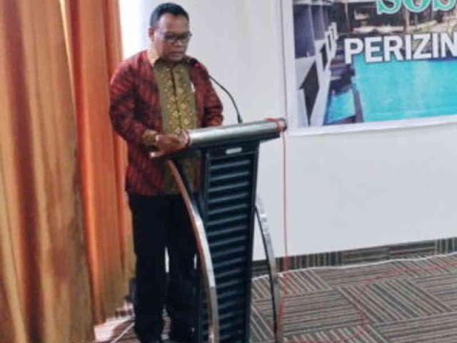 Dispar Maluku Utara Gelar Sosialisasi Perizinan Pariwisata