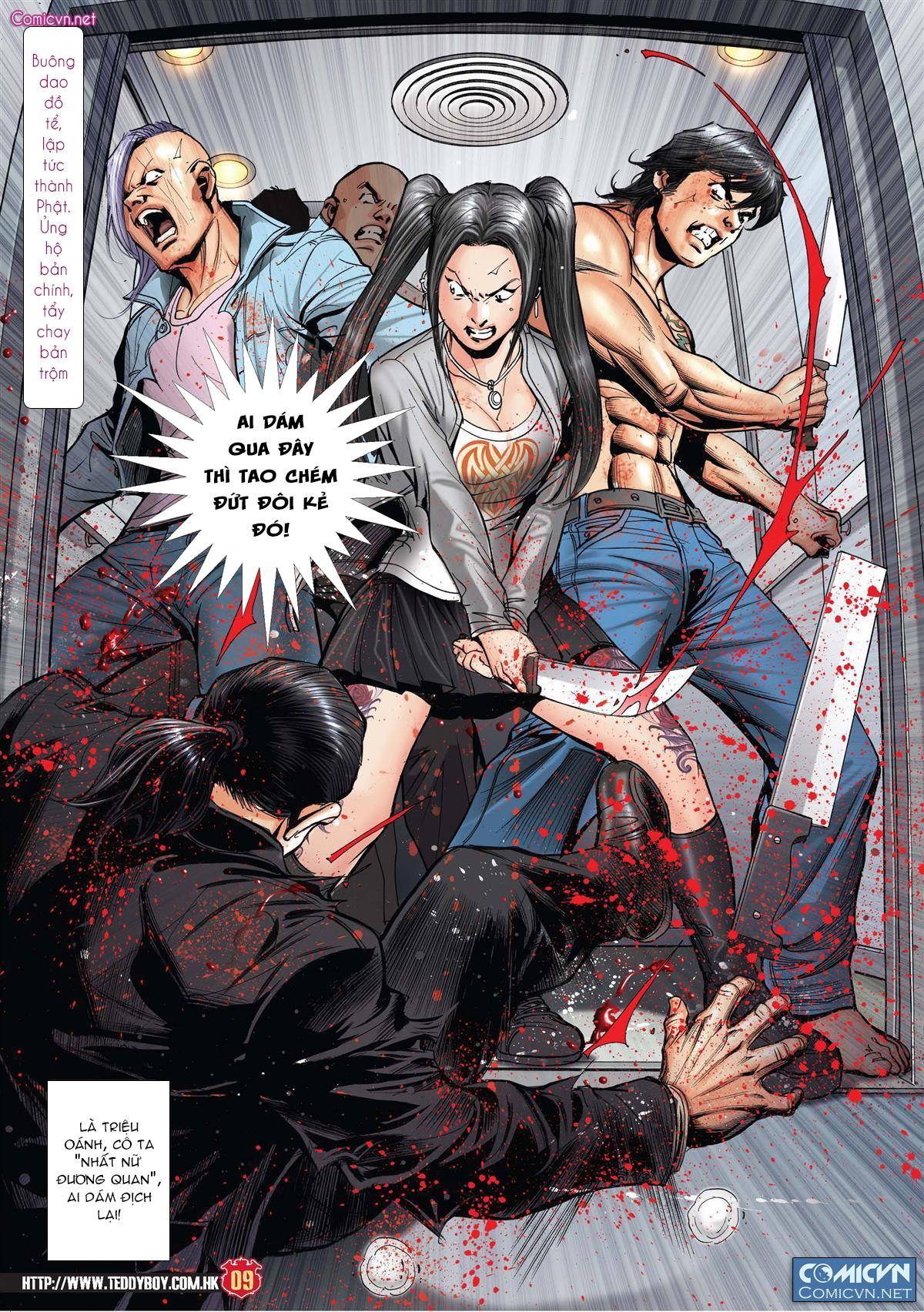 Người Trong Giang Hồ chapter 1997: triệu oánh vs đinh dao trang 7