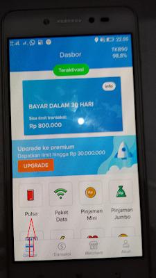 Cara Menukarkan Pulsa Gratis Rp50.000 dari Aplikasi Kredivo Android