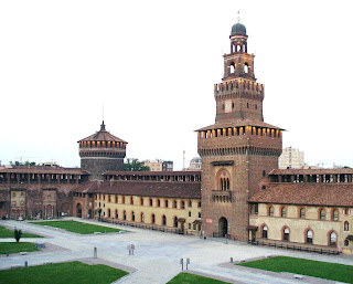 Castiglioni's studio, now a museum, is close to Milan's magnificent Castello Sforzesco