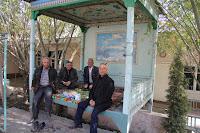 Uzbekistan, Rishtan, chaikhana, aiwan, topchan, © L. Gigout, 2012