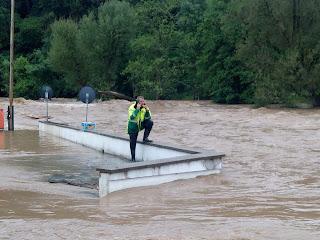 Hochwasser Prüm - Camping Südeifel - Dirk Heck