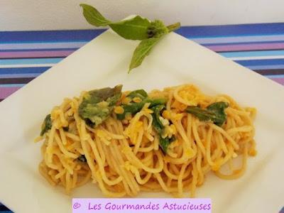 Comment cuisiner un reste de Spaghettis ?