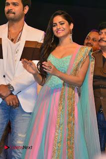Actress Naina Ganguly Stills in Long Dress at Vangaveeti Audio Launch  0035.JPG