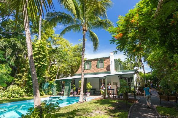 hemingway house swimming pool