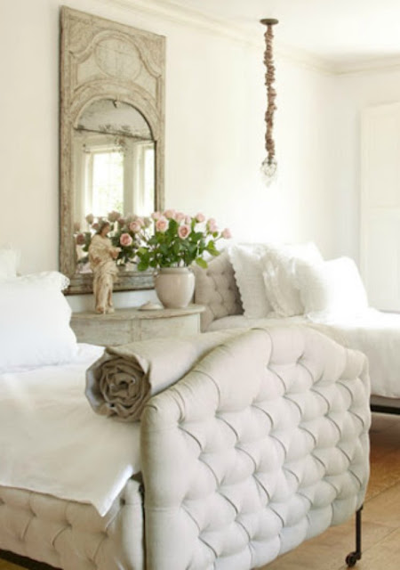 Romantic French Country bedroom by Pamela Pierce in Veranda - found on Hello Lovely Studio
