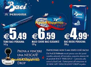 Logo Baci Perugina: gioca e vinci Nescafé Dolcegusto Drop