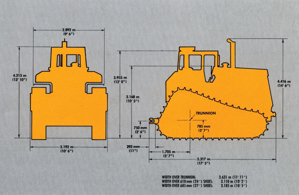 Iron Profile: Caterpillar D9L - Classic Construction Models