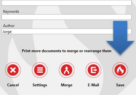 Como criar um arquivo PDF - PDFCreator