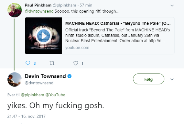 Machine Head plagian a Devin Townsend