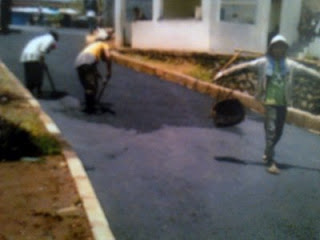 Tahapan Pembuatan Jalan Aspal, Pembuatan Jalan Aspal