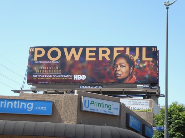 Henrietta Lacks Powerful Emmy nominee billboard