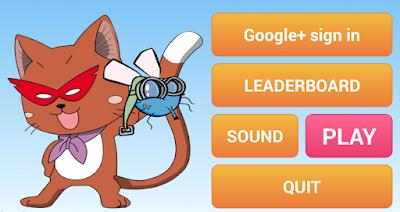 لعبة القط الخارق صائد الذباب للاندرويد