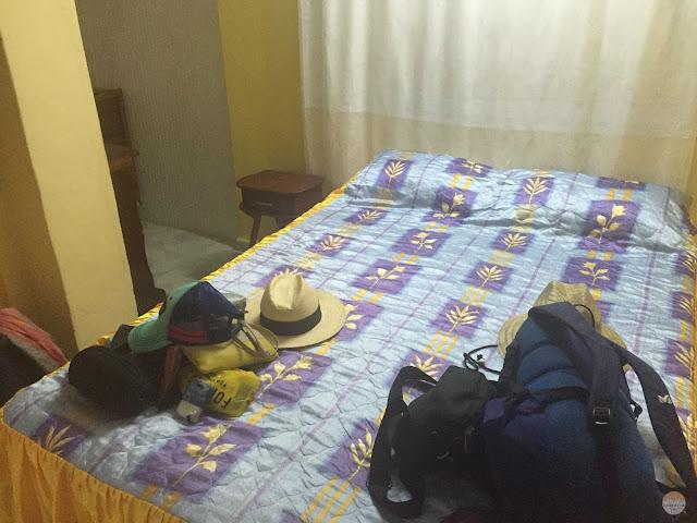 Alojamiento en Cuba - nuestra habitación en Holguín
