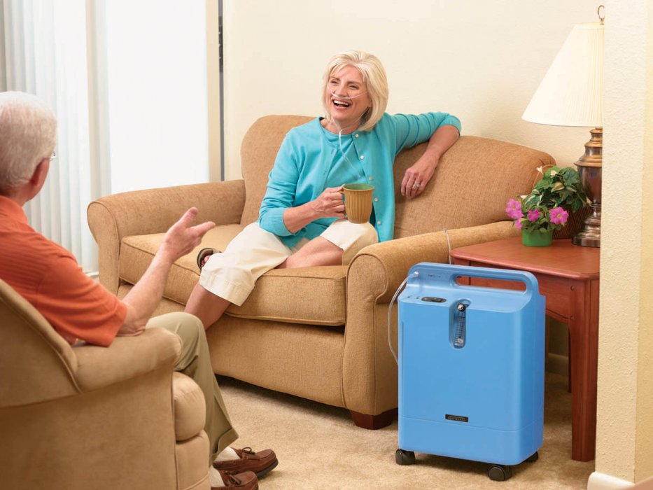 A może by tak kupić koncentrator tlenu? Philips EverFlo Opti